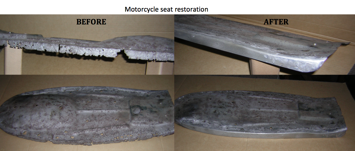 aton engineering motorcycle seat resoration