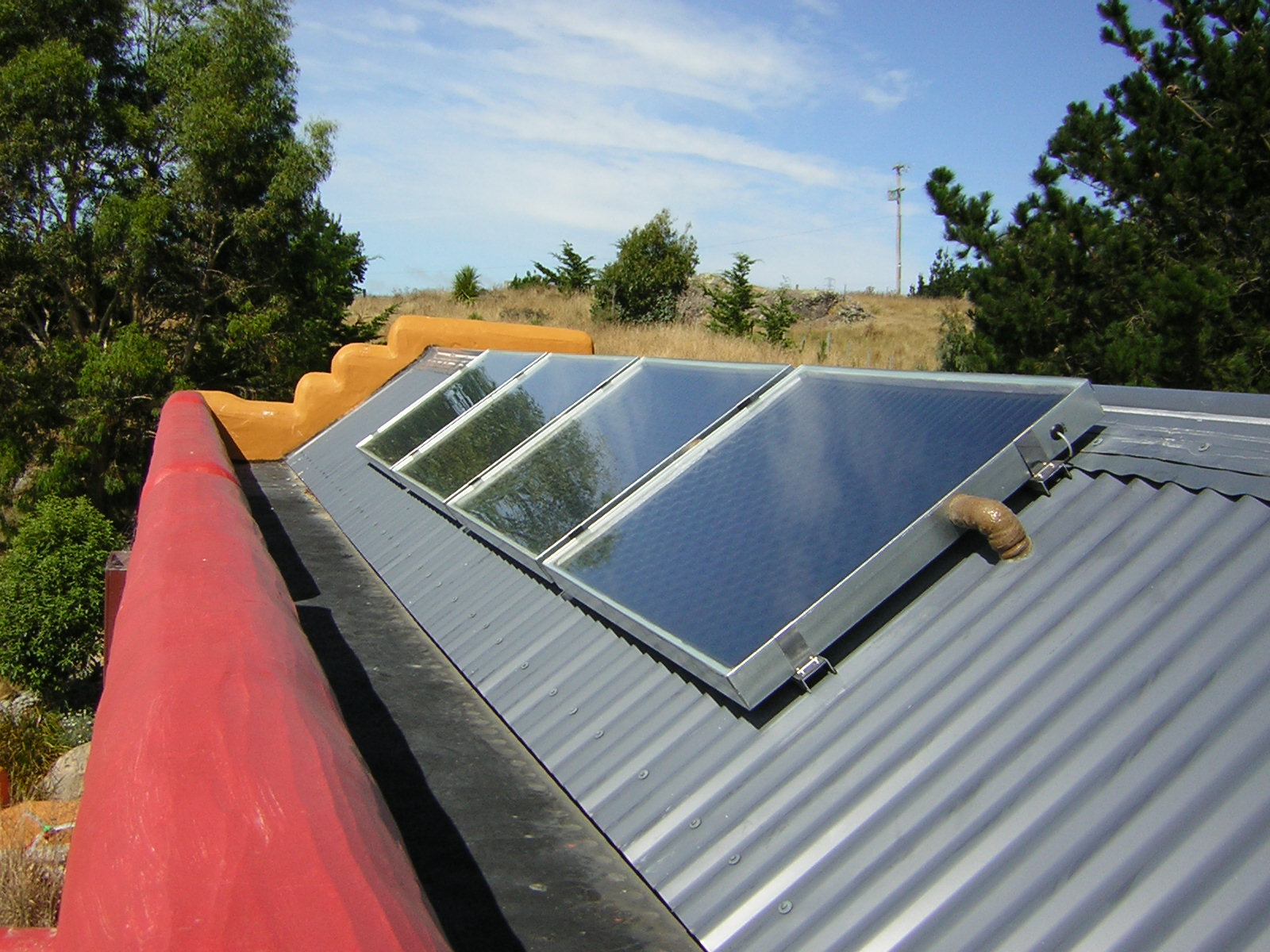 ModLine Solar hot water System