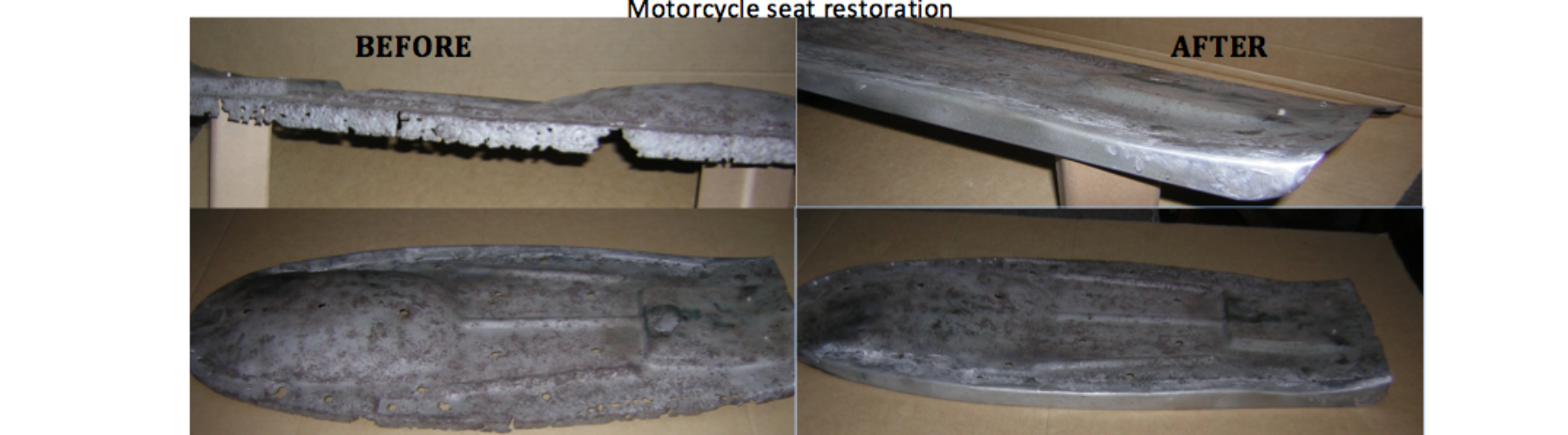 Aton Engineering motorcycle seat restoration